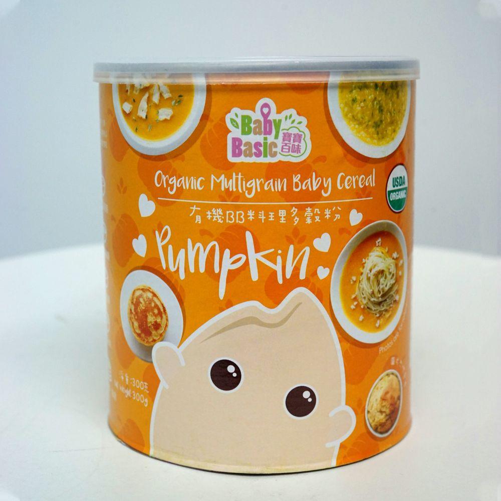 香港寶寶百味 - BB料理多穀粉 (6+)-南瓜-300g/罐