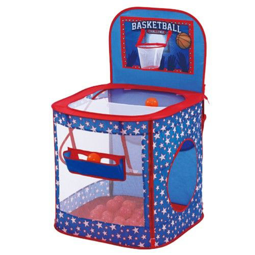 DJ Toys - 投籃小高手遊戲屋-球屋1個+提袋1個