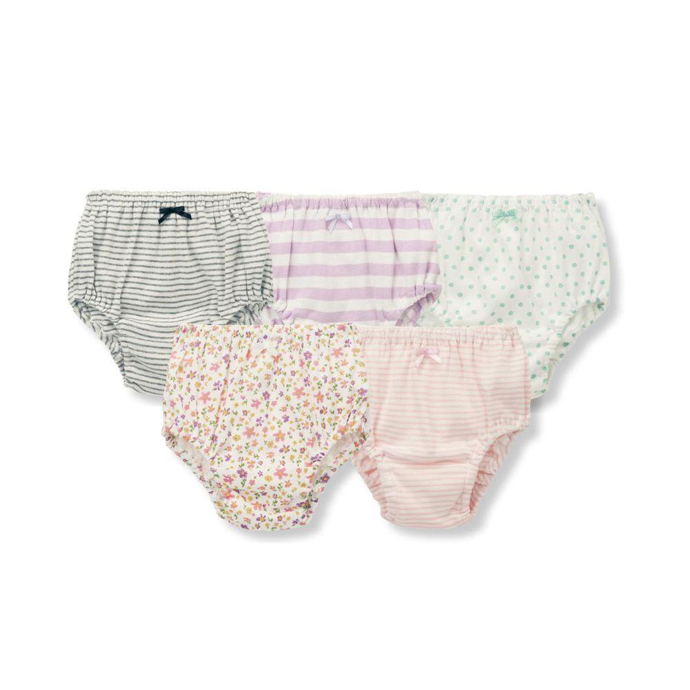 日本千趣會 - GITA 超值內褲五件組-花花點點