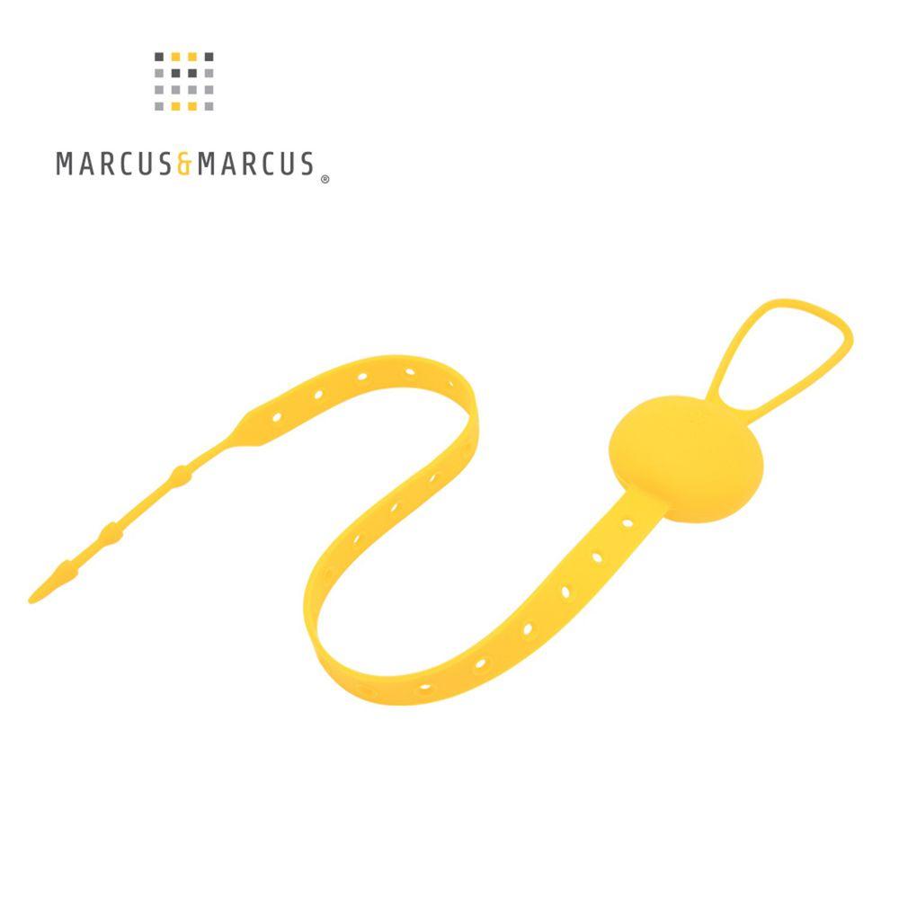 MARCUS&MARCUS - 多用途可調收納防掉帶-黃色