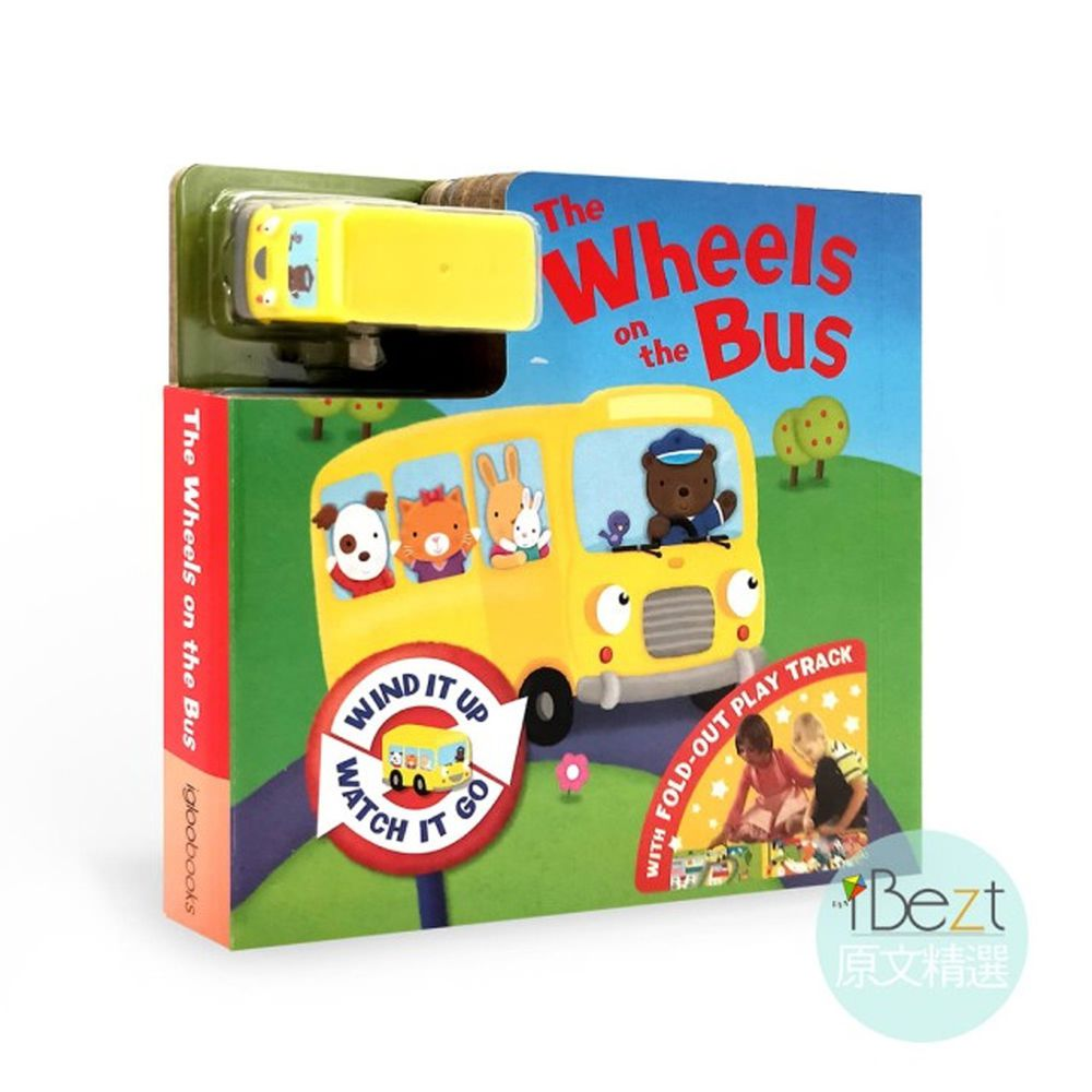 Busy Day Board 軌道車車書-The wheels on the bus