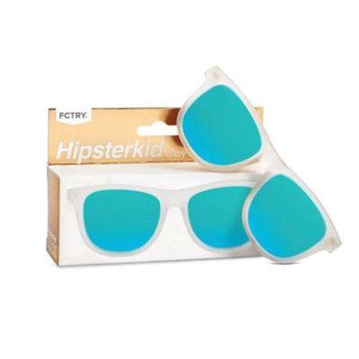 抗UV奢華嬰童偏光太陽眼鏡(附固定繩/收納袋)-冰霜