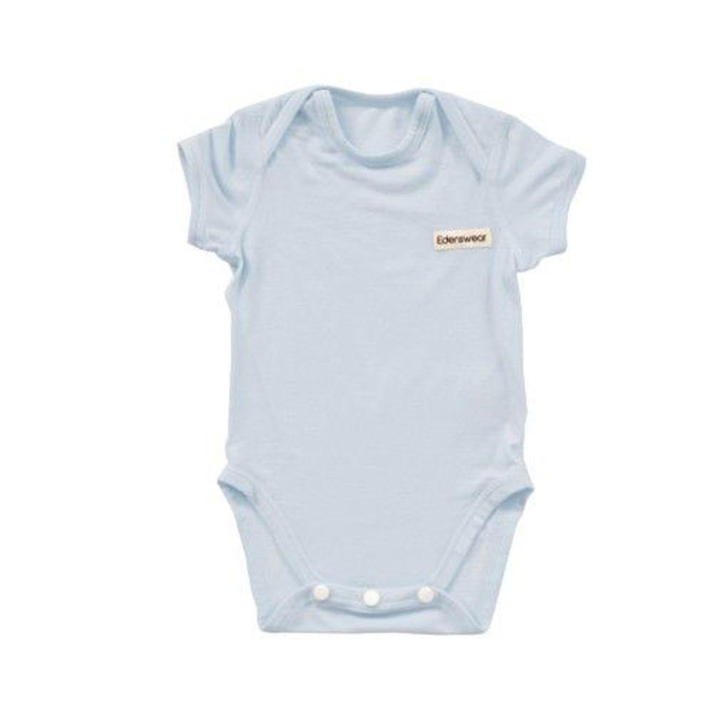 Edenswear 伊登詩 - 鋅纖維抗敏衣系列-小寶寶包屁衣-淺藍
