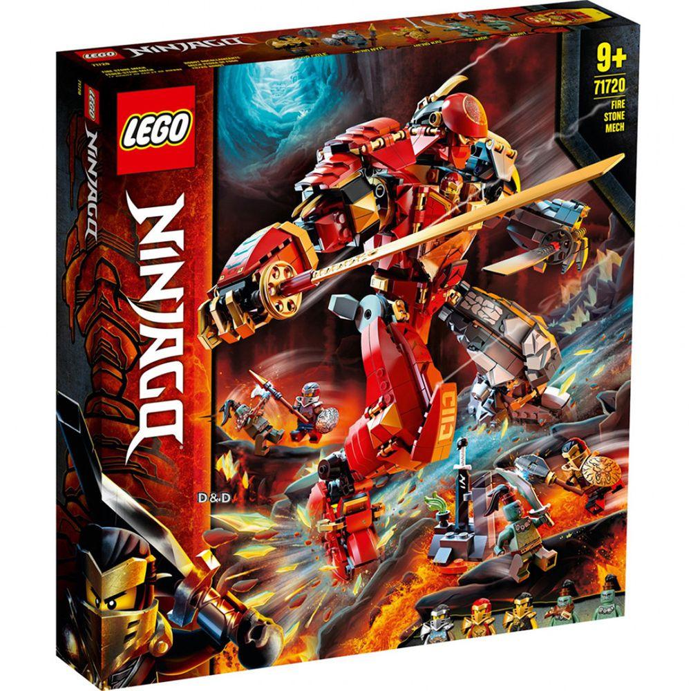 樂高 LEGO - 樂高積木 LEGO《 LT71720》 NINJAGO 旋風忍者系列 - 火焰石機械人-968pcs