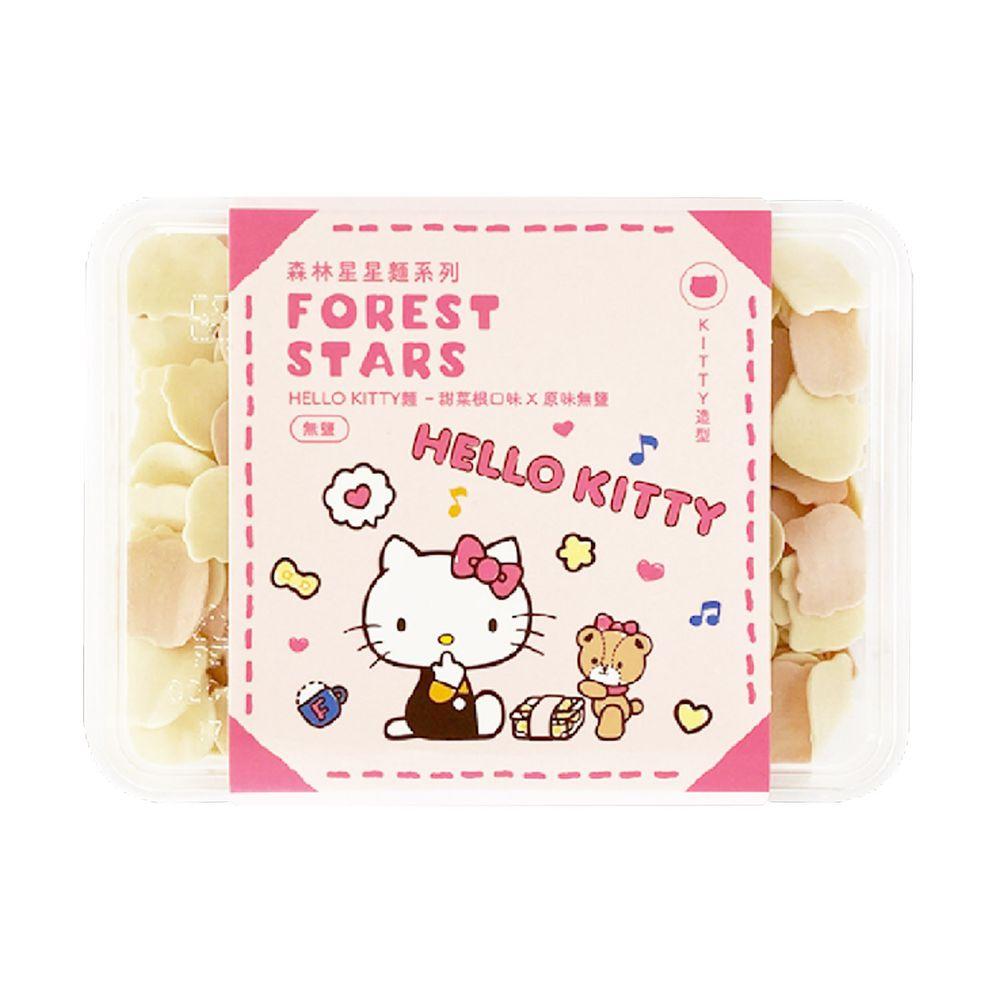 森林麵食 - 三麗鷗 Hello Kitty造型麵-kitty造型-粉款-200g