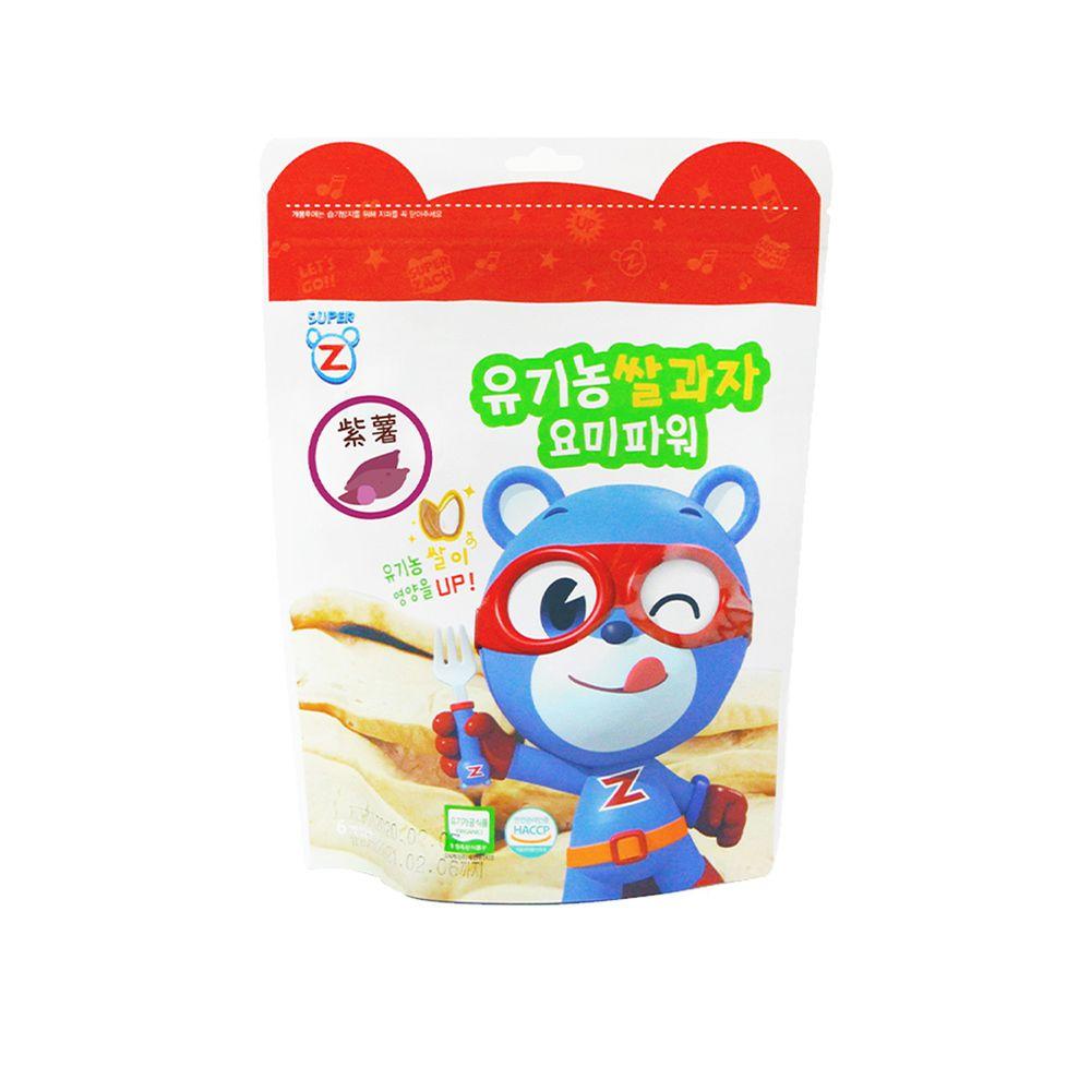 韓國-超人傑克 - 大米米餅-紫薯-20g