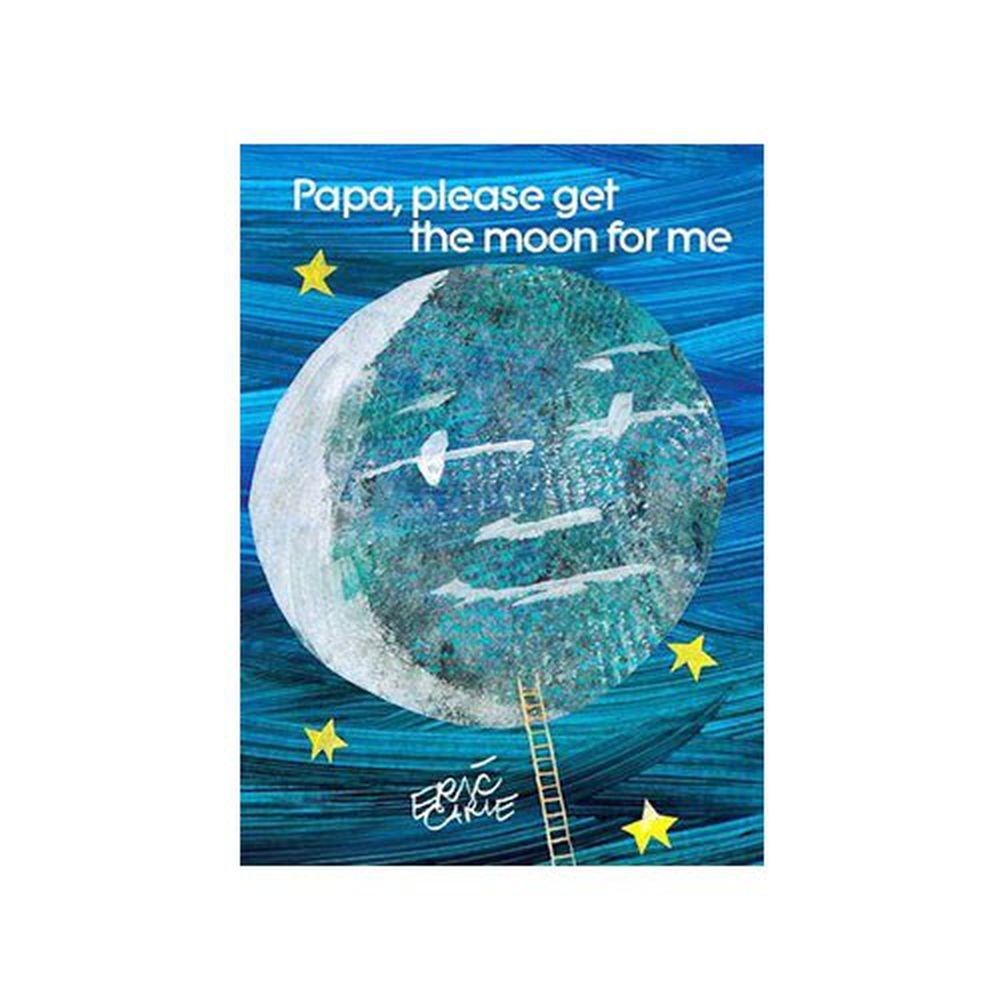 麥克兒童外文書店 - 有聲書-PAPA PLEASE GET MOON FOR ME/BK+CD