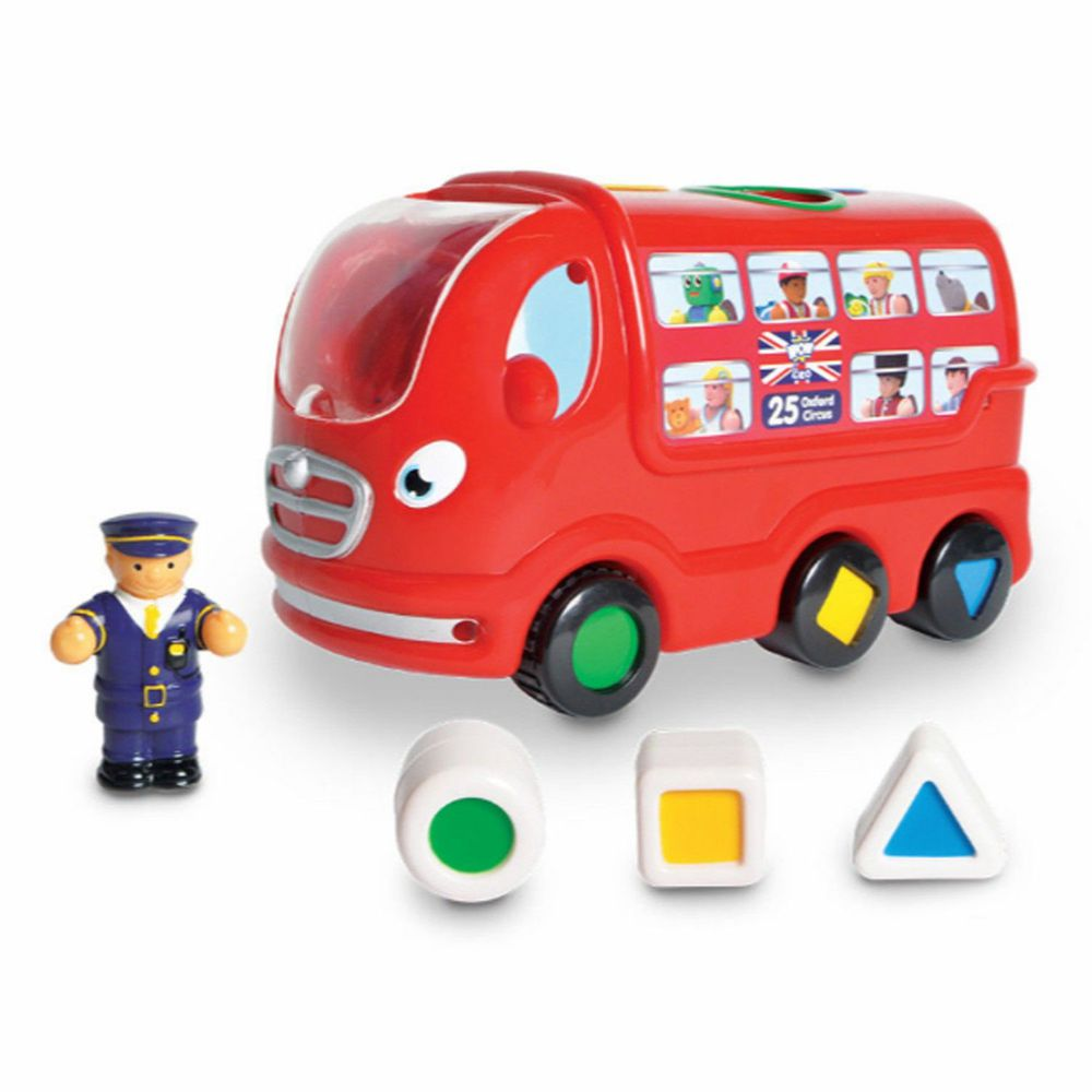 英國驚奇玩具 WOW Toys - 倫敦巴士 利奧