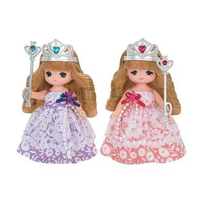 莉卡娃娃 真紀美紀公主禮盒