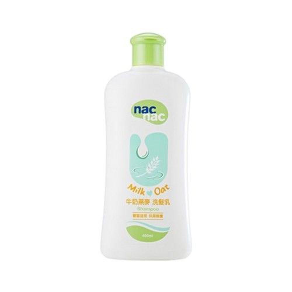 nac nac - 牛奶燕麥洗髮乳-400mL