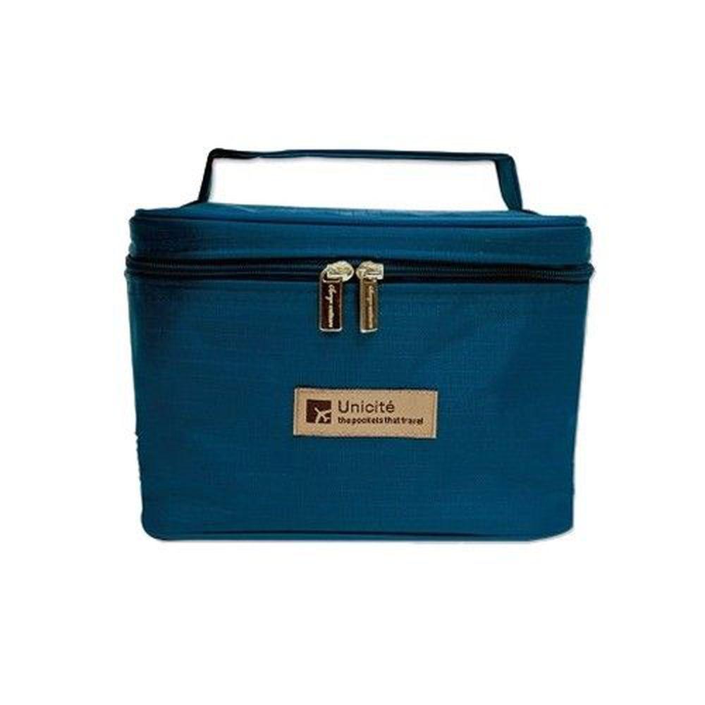 Unicite - 立體收納桶包-深藍
