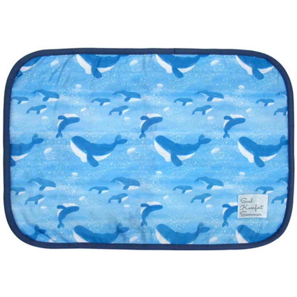 日本 DAIKAI - 接觸涼感枕頭套-鯨魚