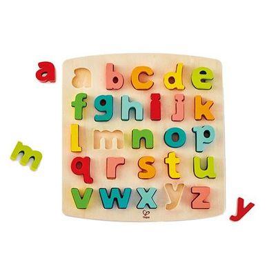 abc小寫立體木拼圖-(新版)