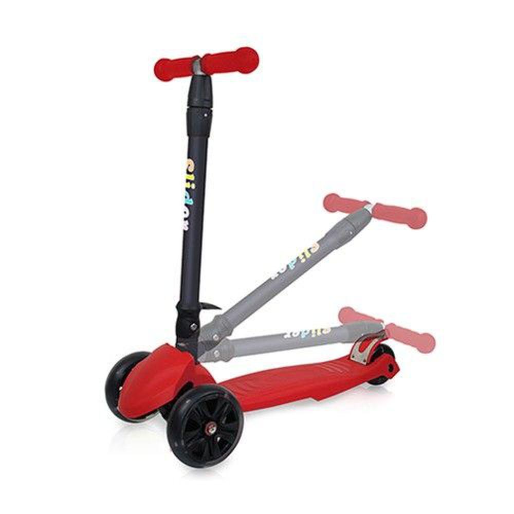 Slider 滑來滑趣 - 兒童三輪折疊滑板車XL1-酷紅