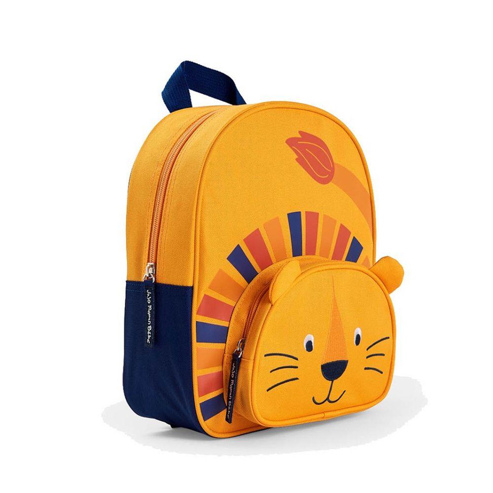 英國 JoJo Maman BeBe - 幼稚園/大童動物造型後背包-小獅王