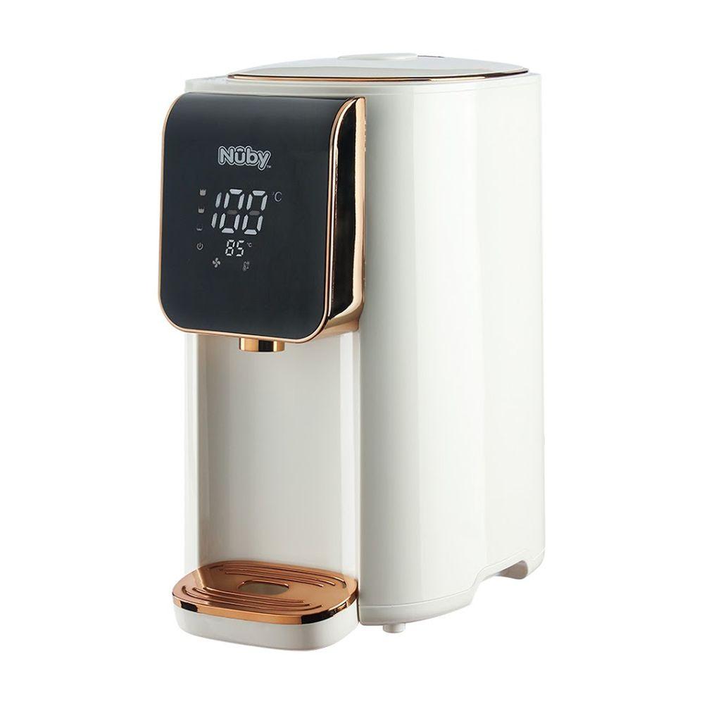Nuby - 智能七段定溫調乳器-純淨白