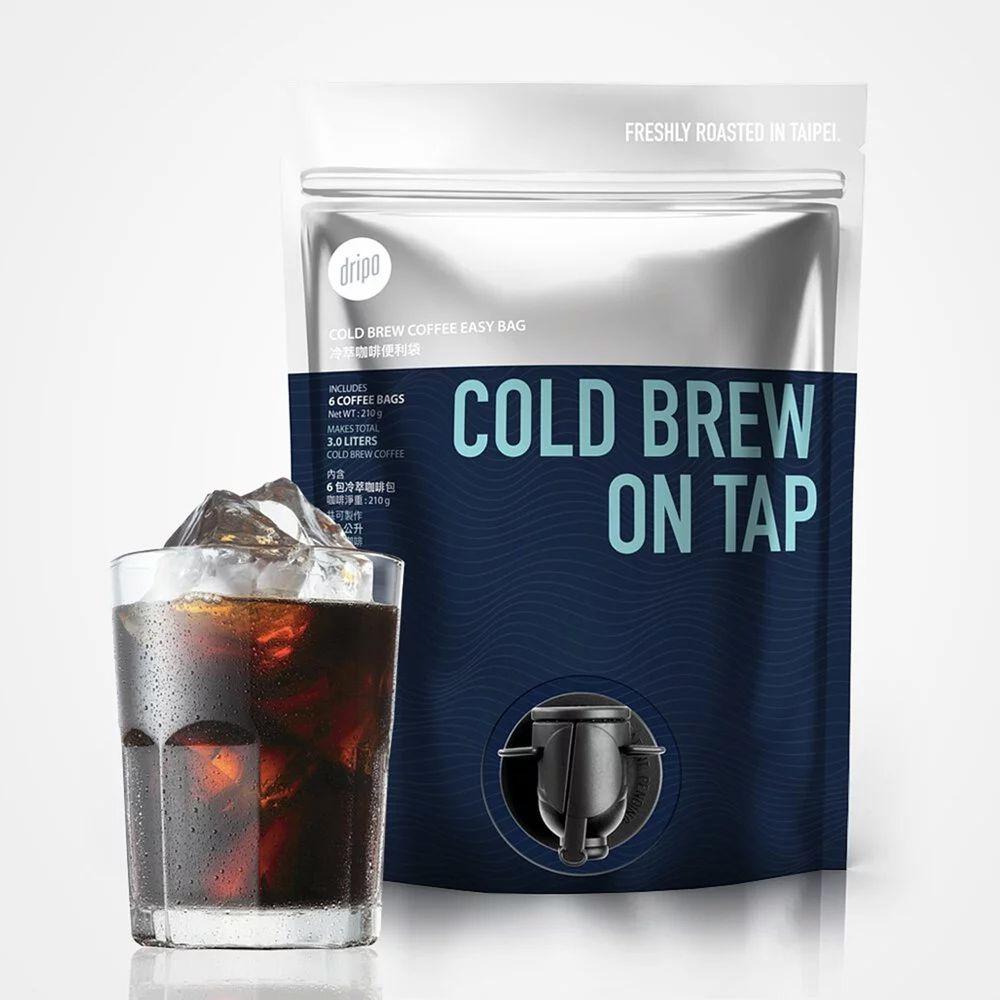 Dripoドリポ - 冷萃咖啡便利袋-36g X 6包/袋