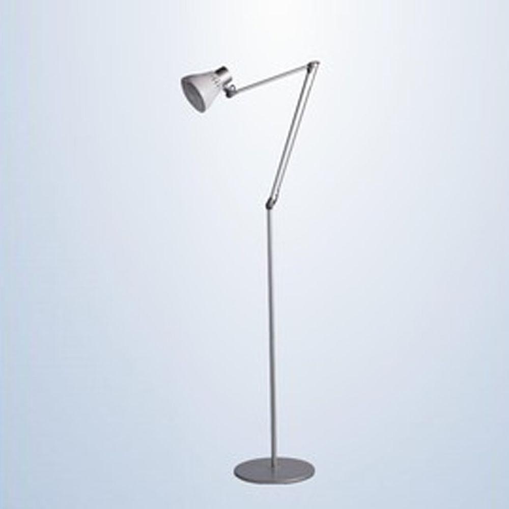 DEXLIGHT 德克斯檯燈 - COLORS樂樂 親子伴讀燈-立夾兩用-銀白色