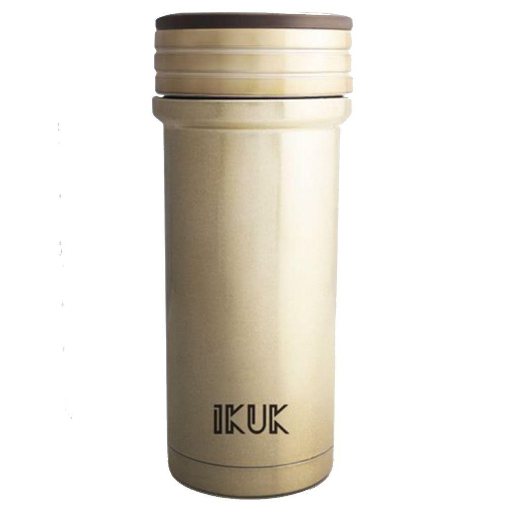 IKUK - 真空雙層好提火把陶瓷保溫杯-金桐 (350ML)
