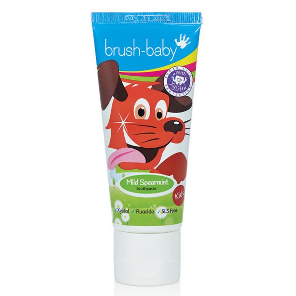 英國 brush-baby - 兒童木糖醇牙膏-6+歲 (氟含量 1350ppm)-50ml