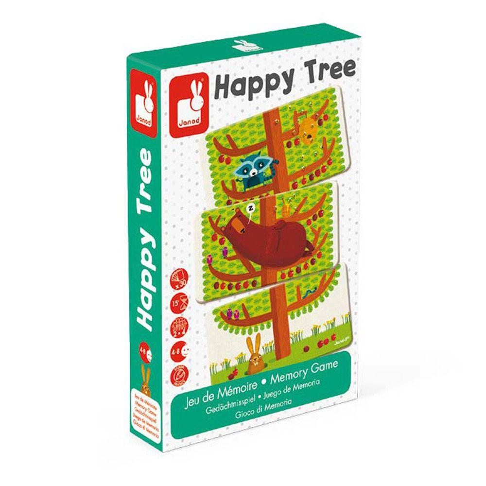 Janod - 趣味桌遊-快樂樹-4歲以上