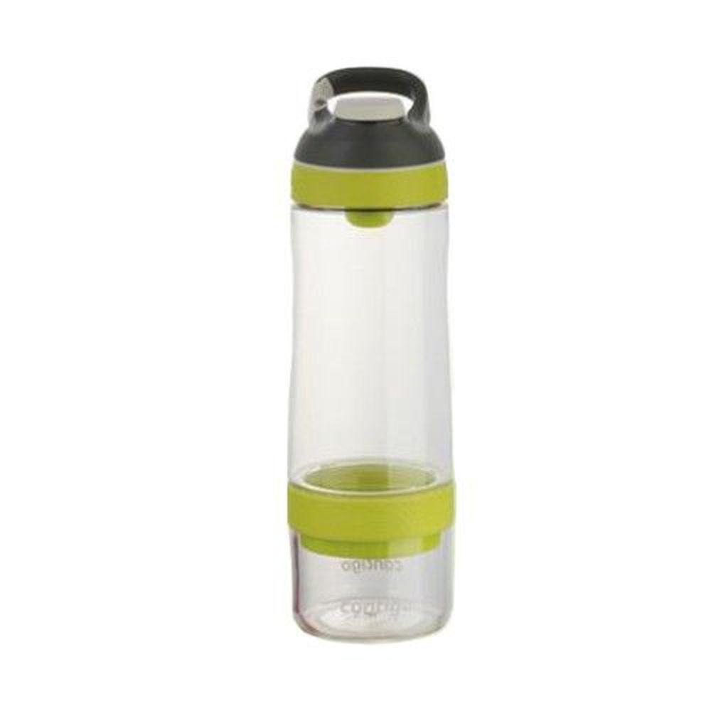 美國 Contigo - Cortland infuser運動茶飲瓶-黃色-650cc