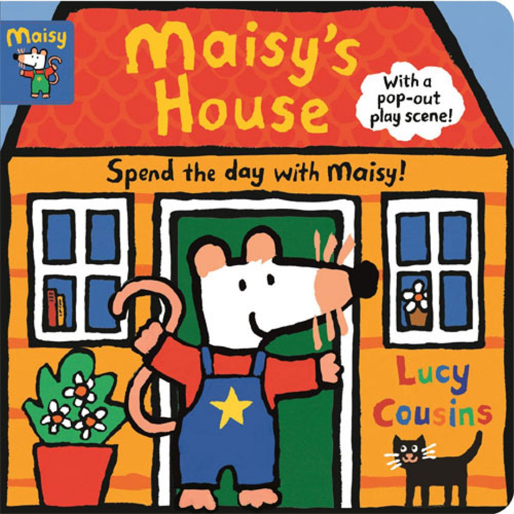 Maisy's House 硬頁立體書屋