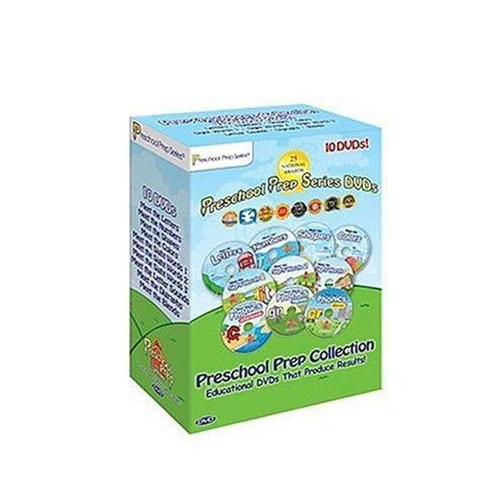 Preschool Prep - 入門最推薦「10片DVD完整組」(基本認知4片+常用單字3片 + 發音 3片)
