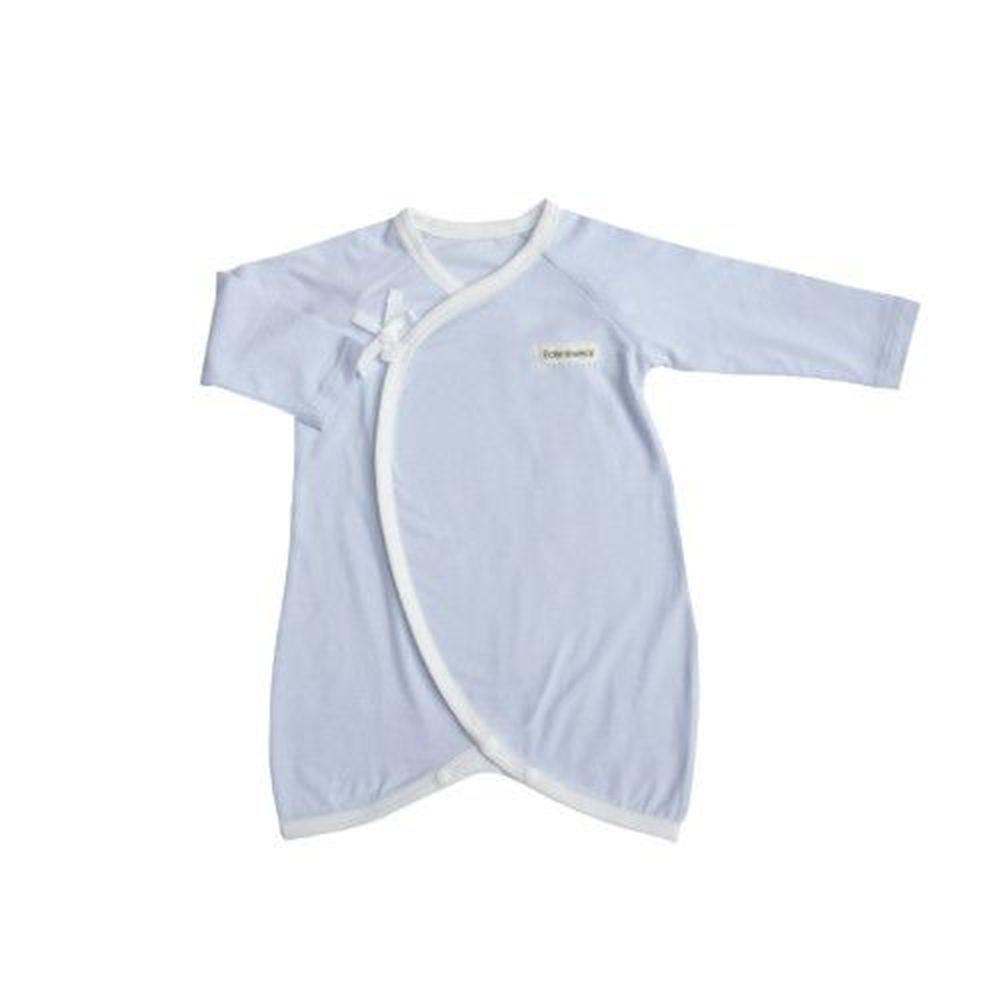 Edenswear 伊登詩 - 鋅健康抗敏系列-嬰兒綁帶蝴蝶裝-淺藍