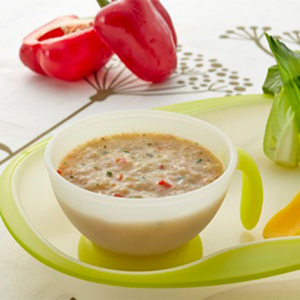 郭老師養生料理 - 常溫寶寶粥 單盒 甜椒豬肉粥-6個月以上可吃-一盒兩包,每包150g