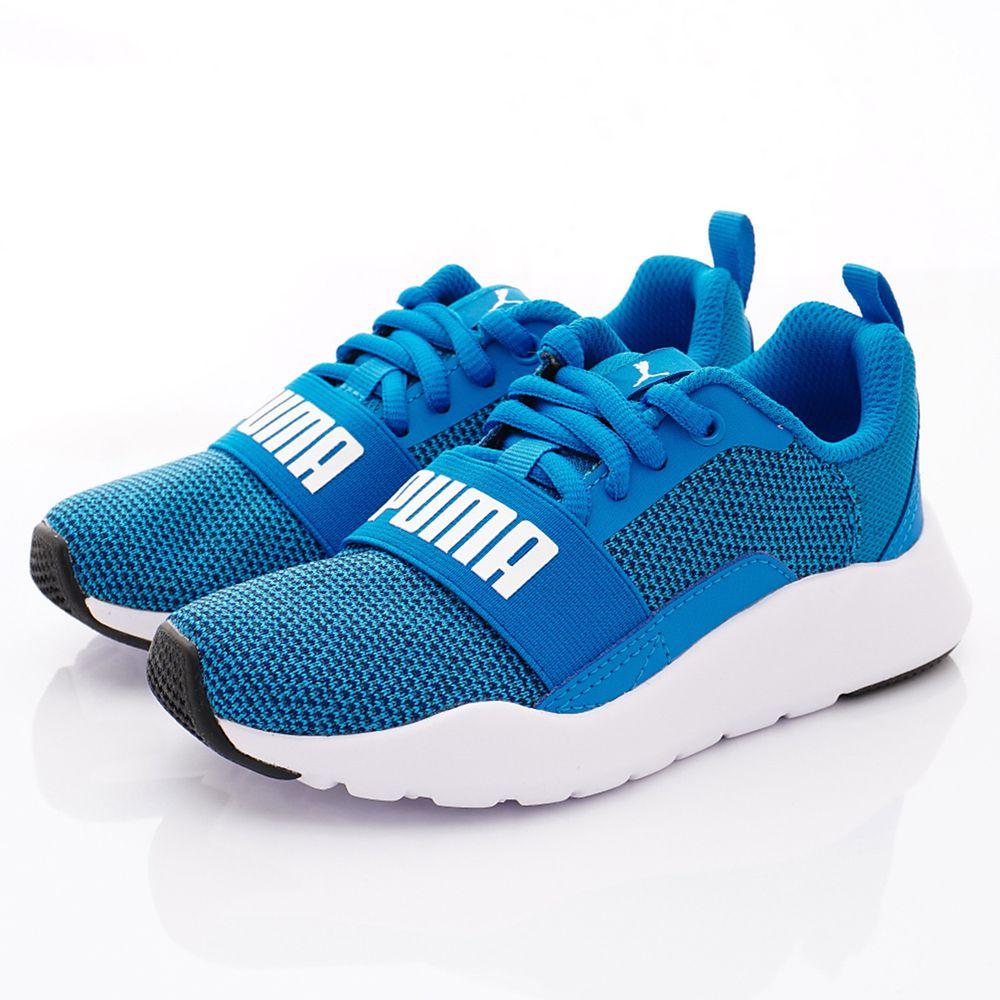 puma - PUMA童鞋-經典綁帶鞋款(中小童段)-藍
