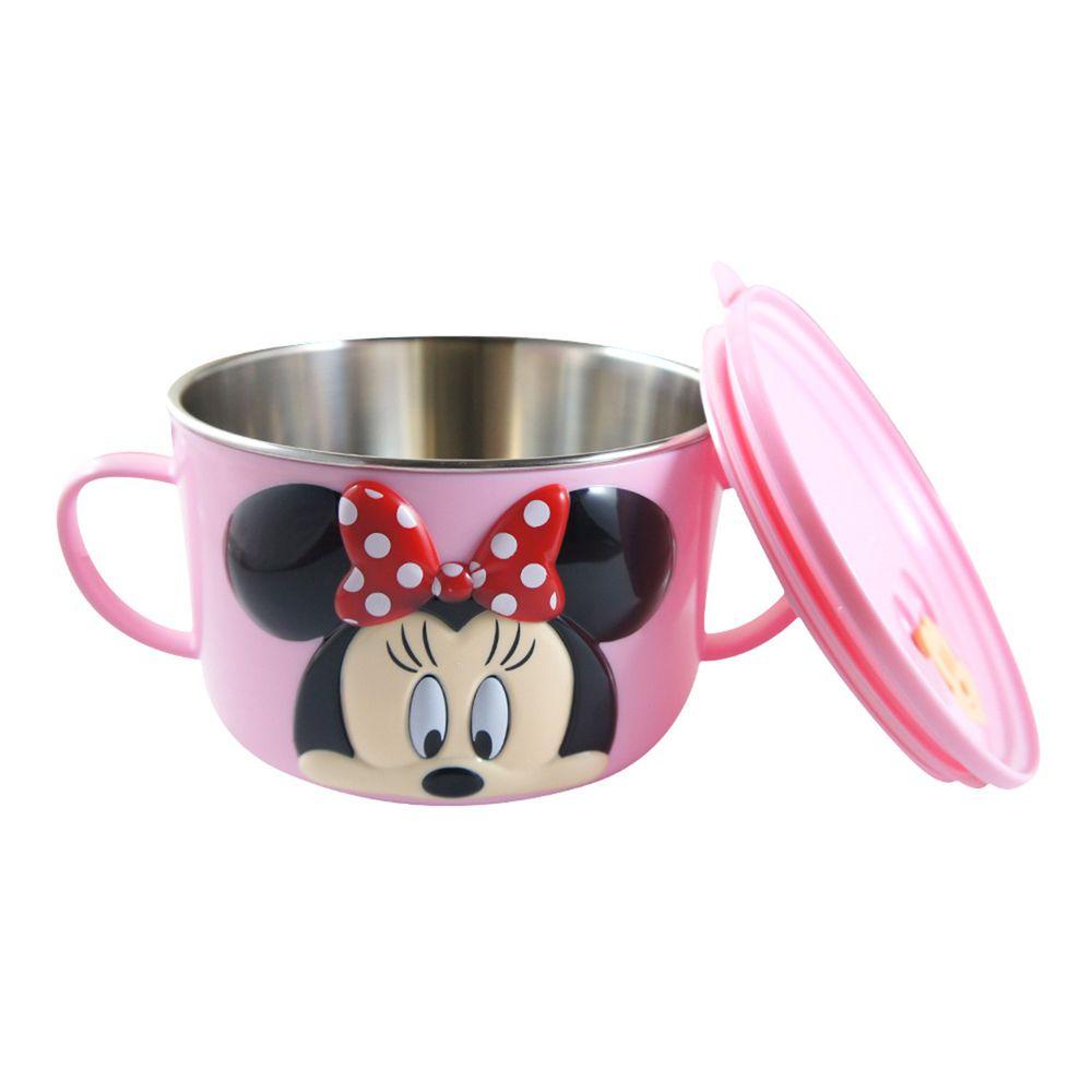 Disney - 不鏽鋼大杯碗(400ml)-米妮