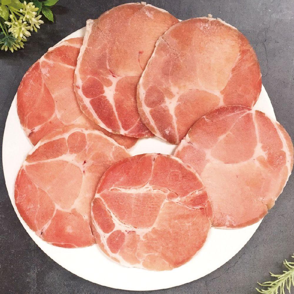 Camaron卡馬龍 - 嚴選-頂級西班牙黃金梅花豬肉片 250公克(約5~6片)/包