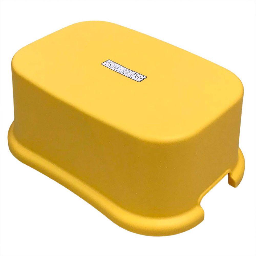 akachan honpo - 腳踏台-黃色