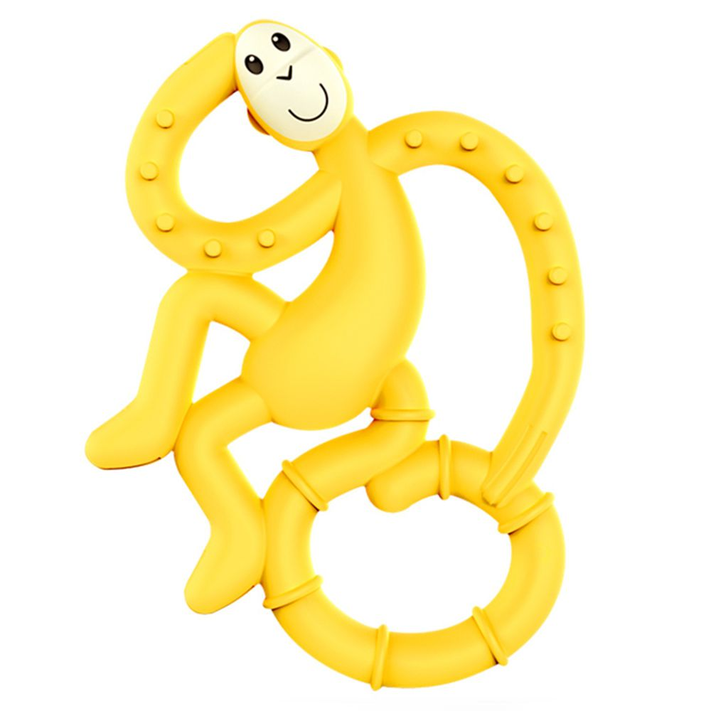 Matchstick Monkey - 跳舞猴牙刷固齒器-黃力猴 (跳舞猴款)