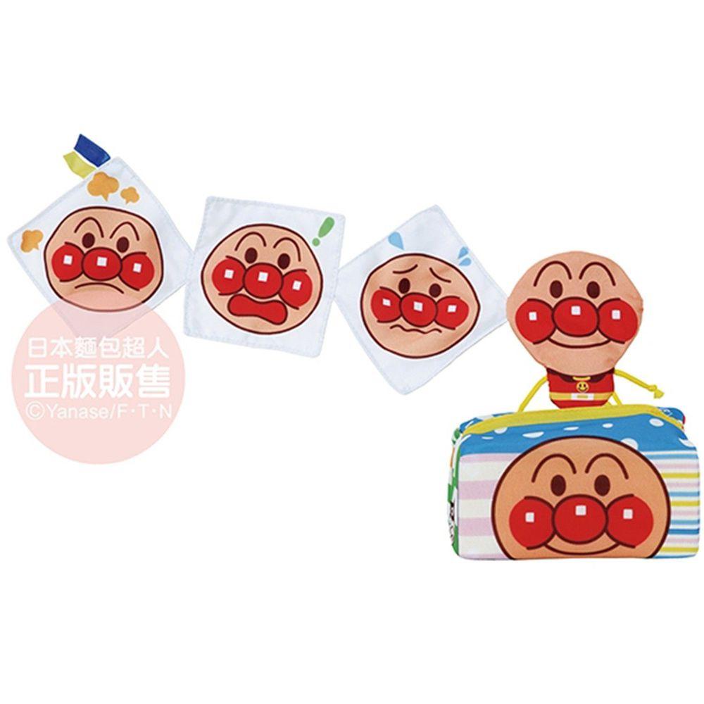 麵包超人 - 越抽越多麵包超人嬰兒面紙盒玩具-6個月