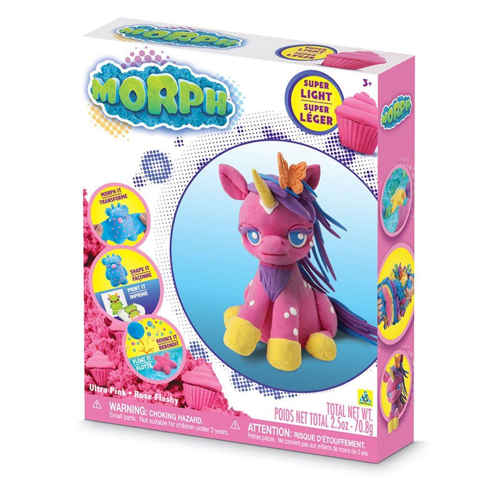 瑞典 MORPH - 【基本備色】魔塑黏土-粉 (L)-70.8g