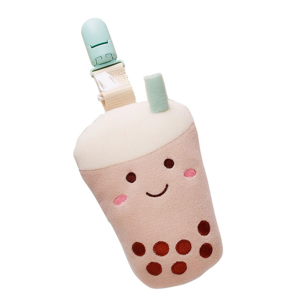 nac nac - 珍珠奶茶造型多用途奶嘴夾