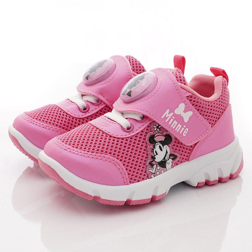 Disney - 米妮電燈運動鞋(小童段)-粉