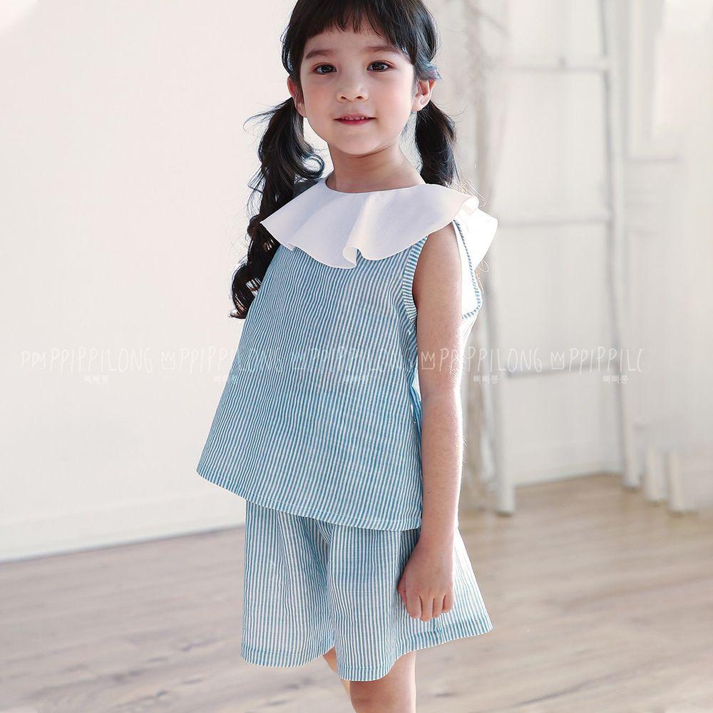 韓國 Ppippilong - 棉混紡涼感套裝-氣質名媛