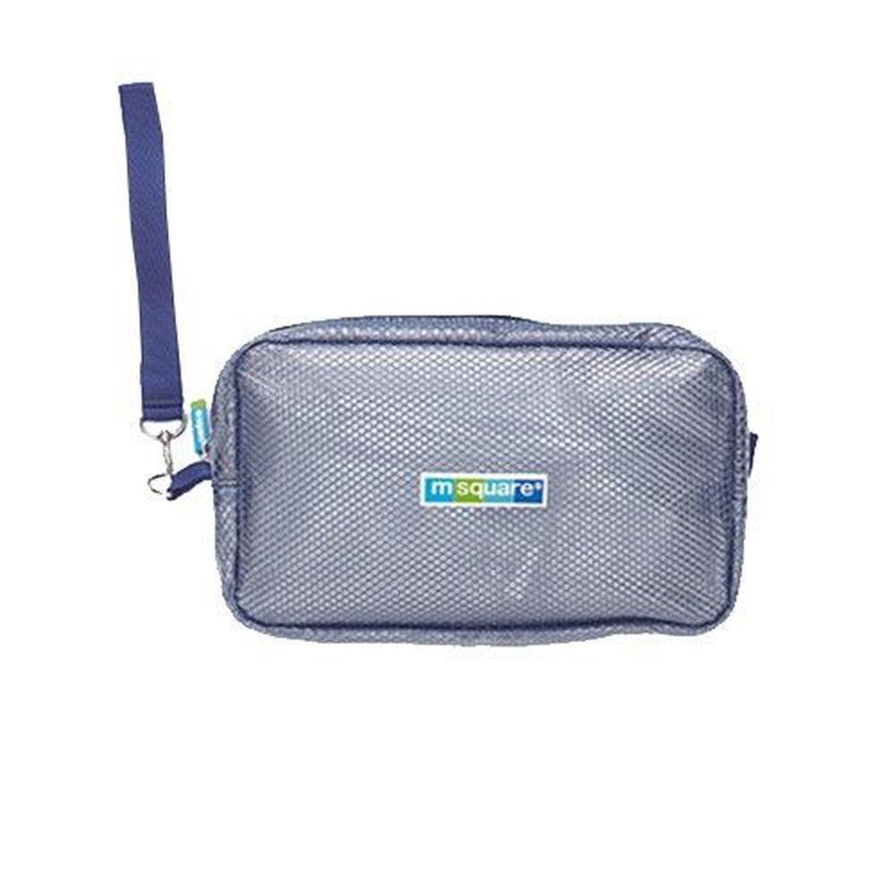 m square - 商旅系列Ⅱ-防水毛巾包-寶藍
