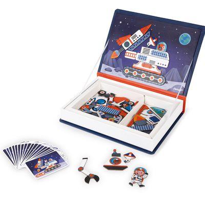 磁鐵遊戲書-太空探險