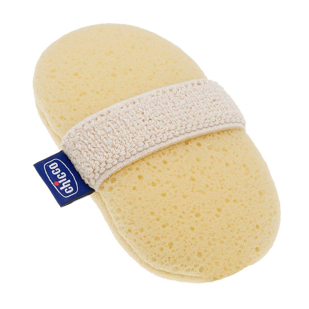 義大利 chicco - 寶貝嬰兒沐浴海綿手套
