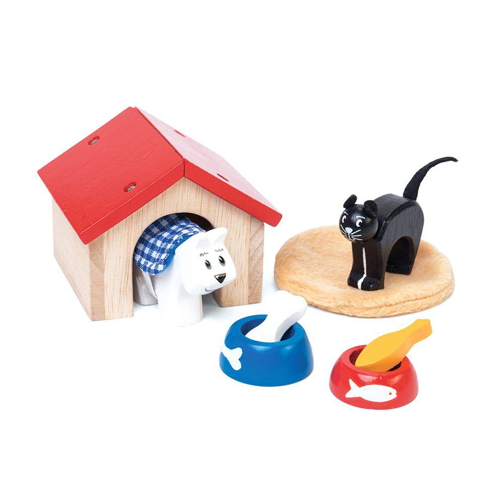 英國 Le Toy Van - 娃娃屋專屬毛小孩房