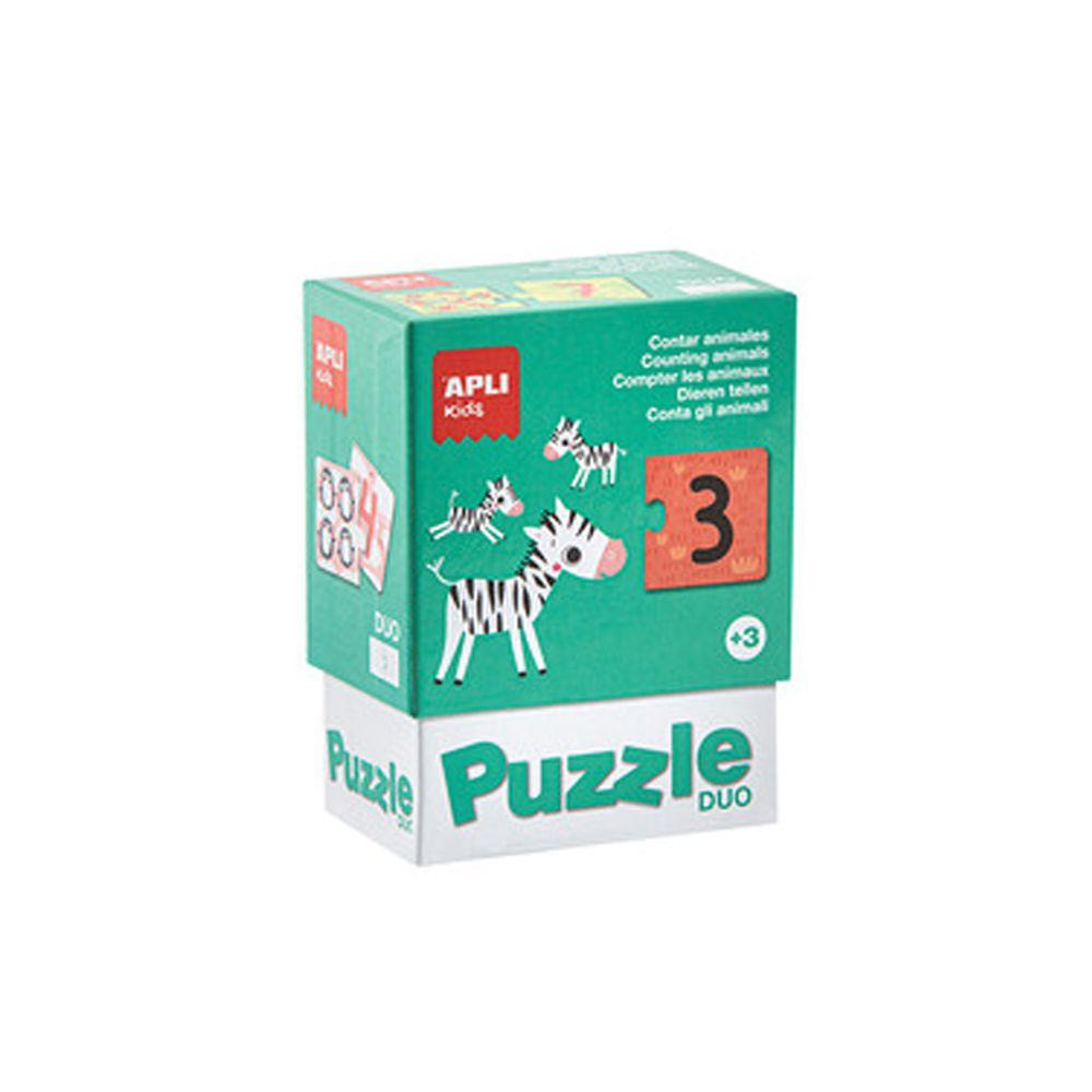 西班牙 APLI - 二分之一拼圖-數學遊戲