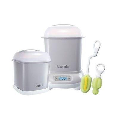 Pro 高效消毒烘乾鍋-超值優惠組 H-寧靜灰-消毒鍋+保管箱+刷具組
