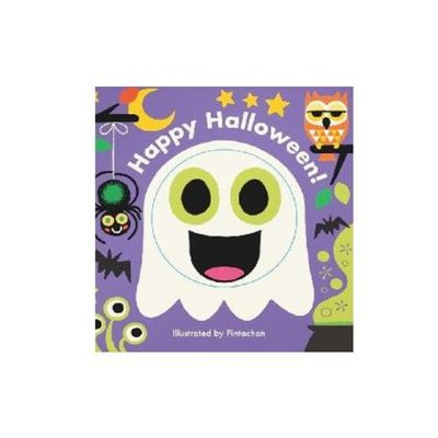 Little Faces: Happy Halloween! 萬聖節快樂 (百葉窗書)