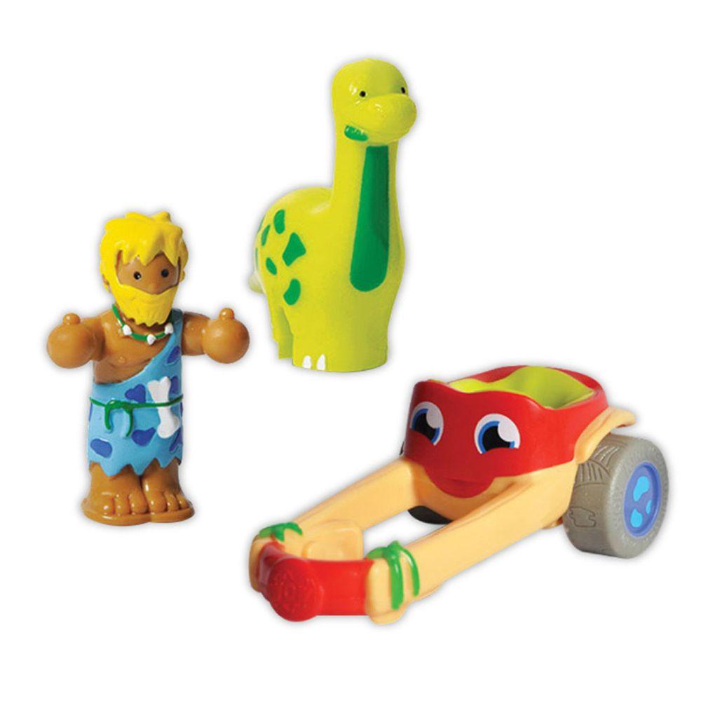 英國驚奇玩具 WOW Toys - 小玩偶-長頸龍戰車