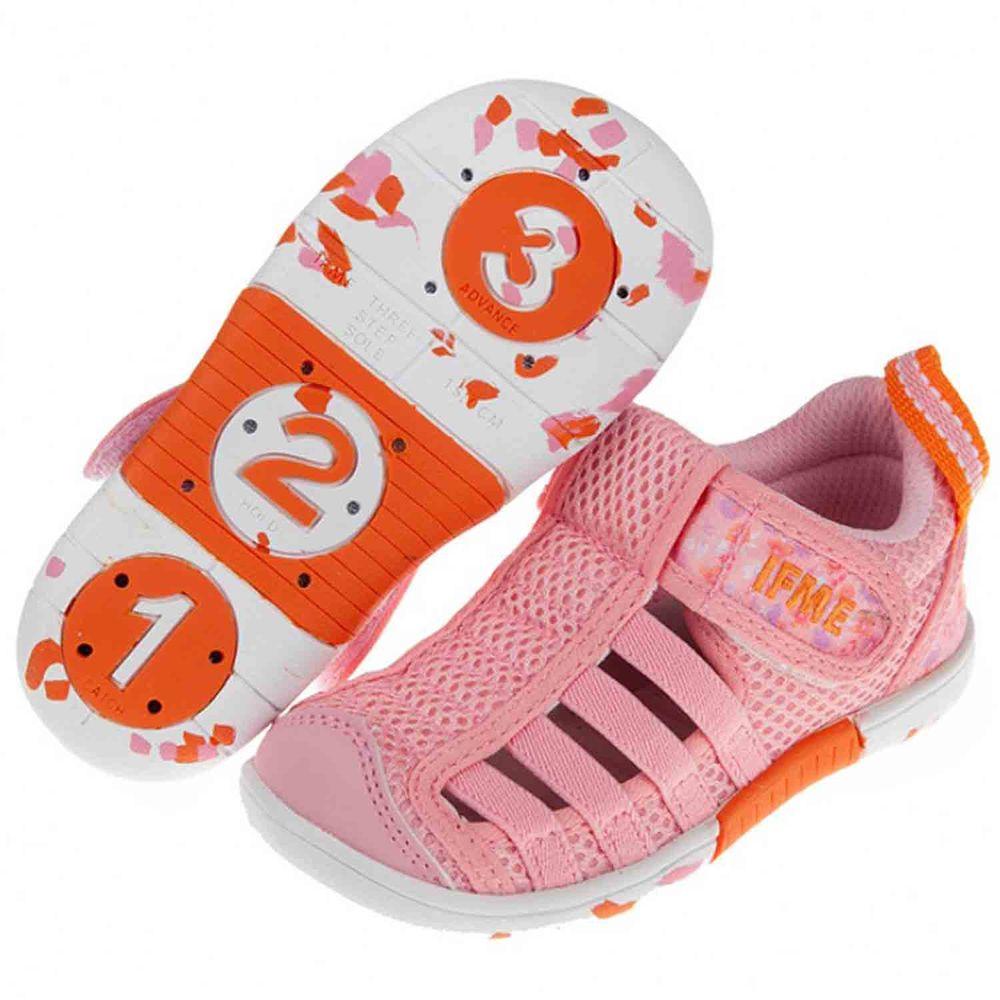 日本IFME - 日本IFME新彩粉色兒童機能水涼鞋