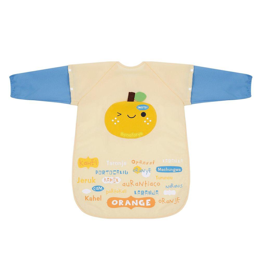 naforye 拉孚兒 - 【髒止步】幼兒畫畫衣-橘子